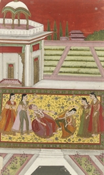A SCENE FROM THE VASANTA RAGIN