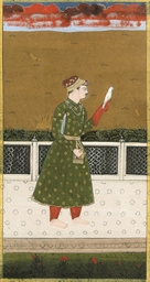 PORTRAIT OF A FALCONER, RAJAST