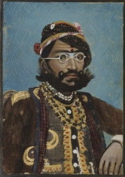 A PORTRAIT OF RAM SINGH, INDIA