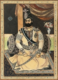 A PORTRAIT OF MUHAMMAD SHAH (1