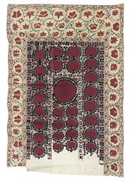 A SUSANI MEHRAB, BOKHARA, 19TH