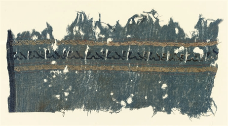A TAPESTRY TIRAZ FRAGMENT, 9TH