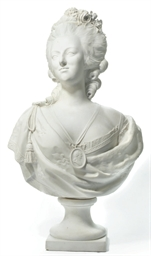 A PARIAN BUST OF MARIE-ANTOINE