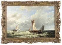 ABRAHAM HULK, SEN. (DUTCH, 1813-1897)