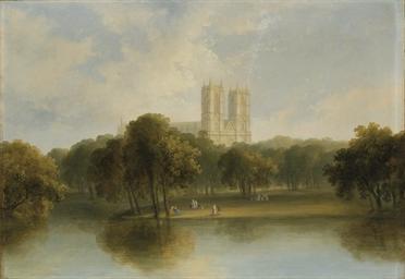 Vue de l'Abbaye de Westminster