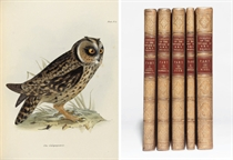 DARWIN, Charles (1809-1882, editor). The Zoology of the Voyage of the Beagle, under the Command of Captain Robert FitzRoy, R.N., during the Years 1832 to 1836. London: Smith, Elder, February 1838-October 1843. 5 parts in 5 volumes, 4° (308 x 236mm), comprising: