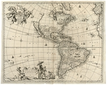 OGILBY, John (1600-1676). America: being the latest, and most accurate description of the New World. London: Printed by the Author 1671.