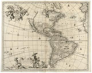 OGILBY, John (1600-1676). Amer