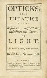 NEWTON, Isaac (1642-1727). Opt