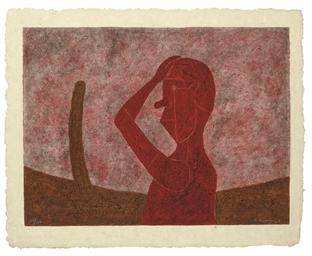 Busto en Rojo (P. 326)