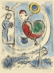 Le coq sur Paris (M. 223)