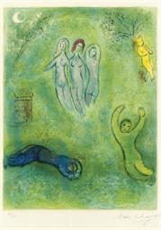 Le songe de Daphnis et les nym