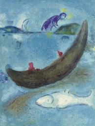 Le dauphin mort et les trois c