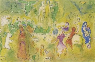 Festin nuptial dans la grotte