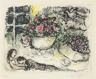 La table fleurie (M. 695)