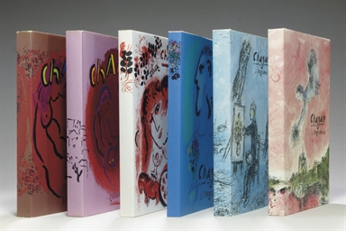 Chagall Lithographe [Vols I-VI