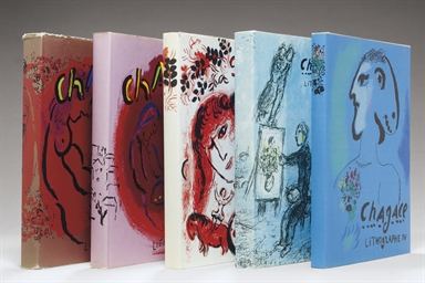 Chagall Lithographe [Vols. I-V