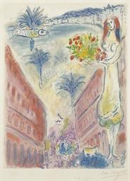 Avenue de la victoire at Nice,