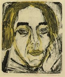 Kopf Mary Wigman (D. L433)