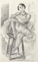 Danseuse au tabouret, from Dix