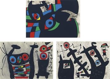 Joan Miró, Le lézard aux plume