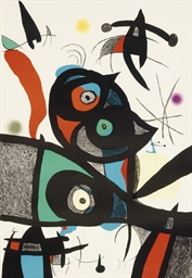 Oda a Joan Miró: one plate (M.