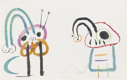Joan Miró, L'Enfance d'ubu, Té