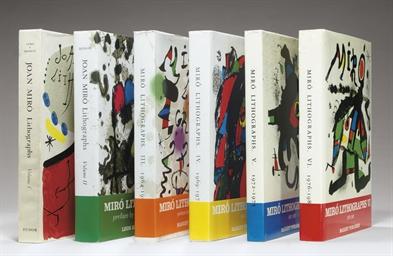 Joan Miró Lithographs [Vols. I