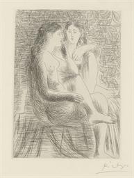 Deux nus assis (B. 133; Ba. 20