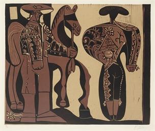 Picador et torero (B. 906; Ba.