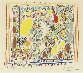 Le Picador II, from A los toro