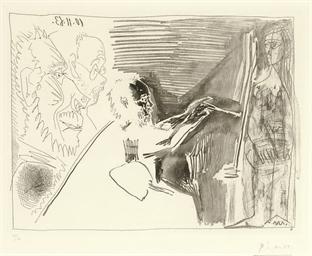 Peintre au travail (B. 1126; B