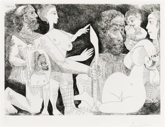 Scène mythologique: Peut-être