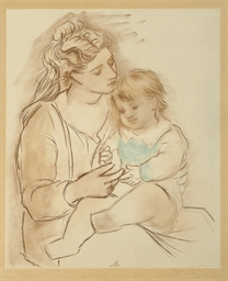 Mère et enfant (see Zervos 370