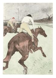 Le jockey (D. 279; W. 308; Adr