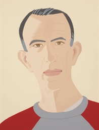 Alex Katz, Self-Portrait (Pass