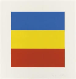 Blue/Yellow/Red (Untitled) (A.