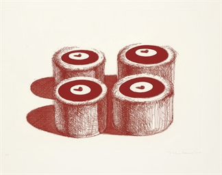 Cherry Cakes, from Recent Etch