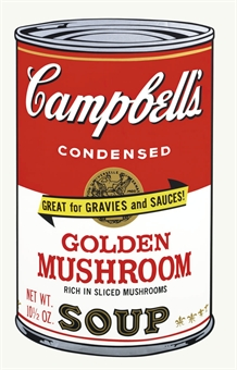 Andy Warhol Golden Mushroom, from Campbell's Soup II (F. & S. 62)