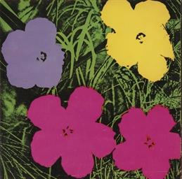 Flowers (Sonnabend Invitation)