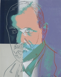 Sigmund Freud, from Ten Portra