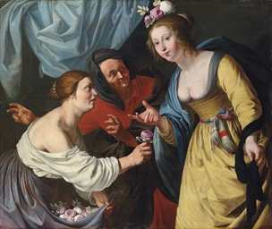 An allegory of youth and old a