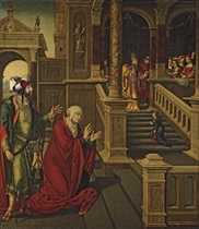 The Presentation of the Virgin in the Temple with Saints Anne and Joachim
