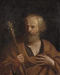 Saint Joseph with the flowerin