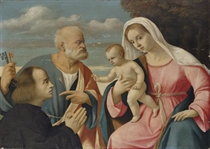 The Madonna and Child with Saint Peter and a donor