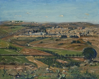 Jerusalem, seen from Mount Scopus