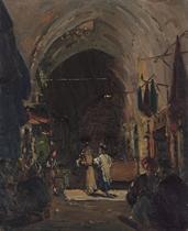 The Market in Jerusalem