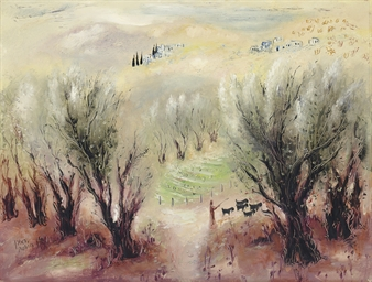 Landscape Near Safed