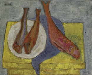 Still Life with Three Fish