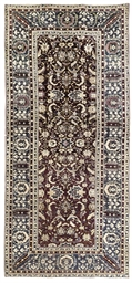 An antique Agra carpet